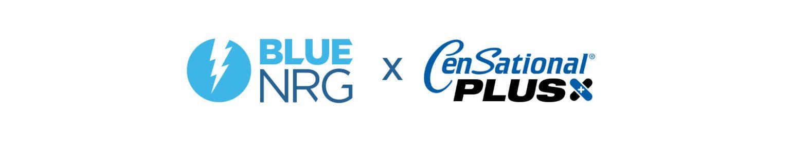 Censational Plus and Blue NRG logo